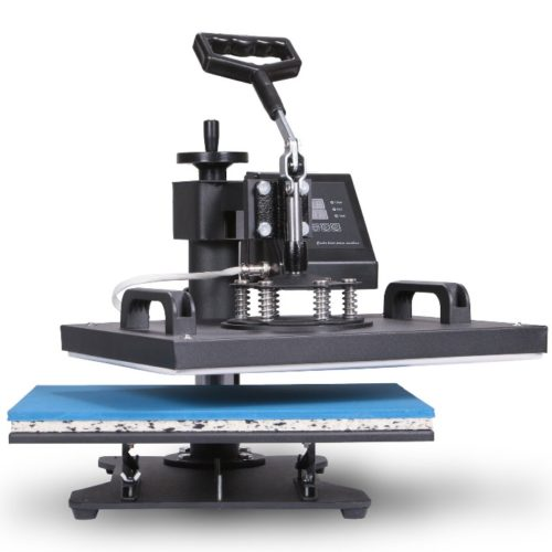 Happybuy 5 in 1 Heat Press Machine 12 by 15 Inch Swing Away Multifunction Sublimation Transfer Heat Press Machine